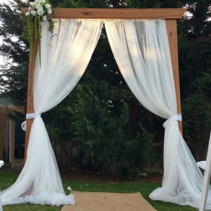 Calgary Rustic Wedding Arches