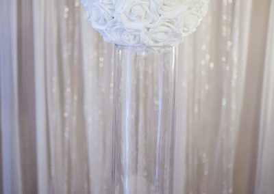 Calgary Wedding Decor- 2 foot cylinder vase