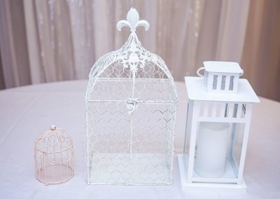 Calgary Wedding Decor- Birdcages and Lanterns