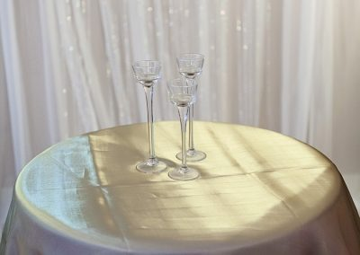 Calgary Wedding Decor- Gold SHimmer Overlay