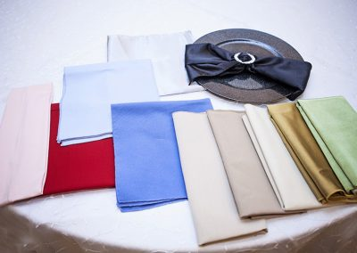 Calgary Wedding Decor- Napkins