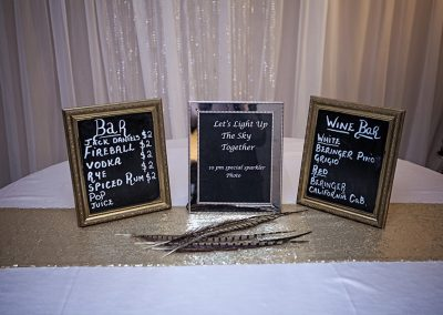 Calgary Wedding Decor- Signs (1)