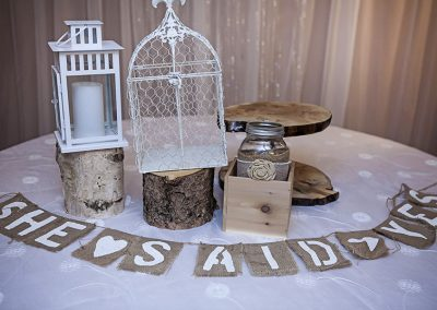 Calgary wedding Decor- Rustic Accents