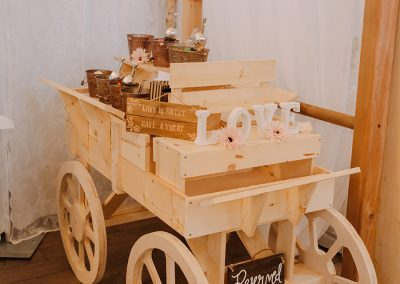 Calgary Wedding Candy Cart and Wagon 1