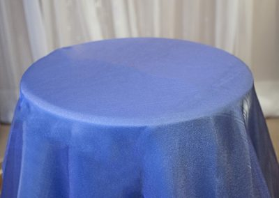 Calgary Wedding Decor- Blue SHimmer overlay