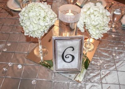 Calgary Wedding Decor- Centre Pieces