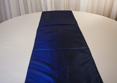 Calgary Wedding Decor- Navy Blue Table Runner