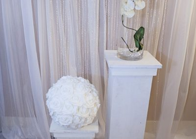 Calgary Wedding Decor- Pillar- Aisle- Stage Decor