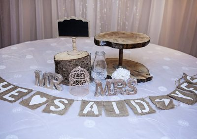 Calgary Wedding Decor- Rustic Accents 2
