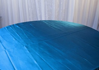 Calgary Wedding Decor- Teal Table Cloth